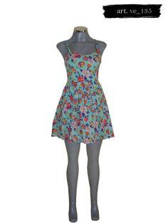 Vestido Con Estampado De Flores Forever 21 - $ 560.00