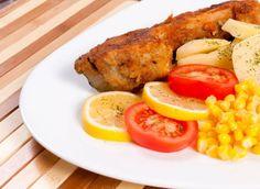 Vyprážaný kapor na cesnaku Pork, Fish, Meat, Chicken, Kale Stir Fry, Pisces, Pork Chops, Cubs