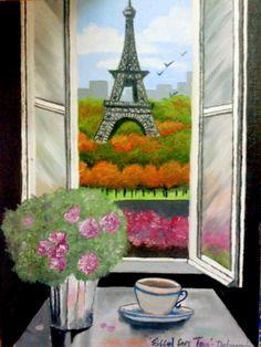 'Eiffel for tea' #EiffelTower #Paris