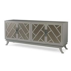 Chin Hua Kirin Buffet/Media Cabinet - 699-405-2 Dimensions: century Outside: W: 77.25 in X D: 19.75 in X H: 32.50 in