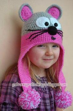 Patrones de gorro para niños al crochet
