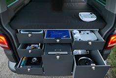 VanEssa Mobilcamping V1 Kitchen for Volkswagen T5/T6 Multivan – Kombi Life