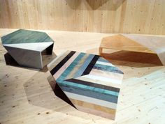 budri-marble coffee tables / Earthquake 5.9 collection / Patricia Urquiola for Budri