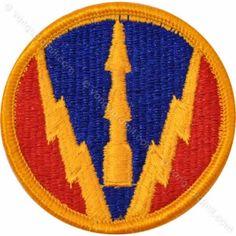 Army Patch: Air Defense Artillery School - color