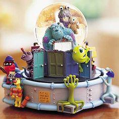 ♥monster inc snow globe Disney Rooms, Disney Nursery, Disney Snowglobes, Globe Crafts, Disney Monsters, Disney Souvenirs, Disney Phone Wallpaper, Christmas Snow Globes, Water Globes