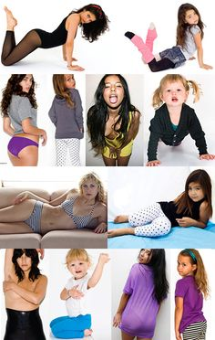 Sexualization of girlhood. This is just sad. But these are the media images that barrage every child in so many public contexts. If we don't teach them another way, they will internalize this notion that their function in our society is to look sexy and present themselves as an object.