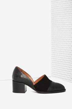 Jeffrey Campbell Shriver Leather Shoe - Jeffrey Campbell | Slip On