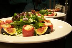 #Healthy #Food from #Cava:    Scallops and Fig