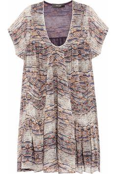 Isabel Marant|Nesto printed silk-georgette dress|NET-A-PORTER.COM