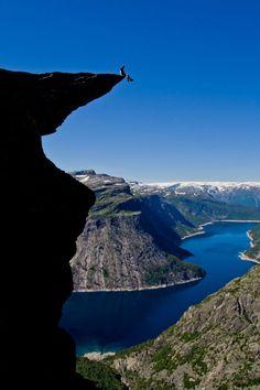 """On the edge"""