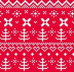 FOLK Digital Art Illustration : red white by RosemaryWellnessShop Make Your Own Poster, Modern Artwork, Custom Bags, Tool Design, Illustration Art, Illustrations, Knitting Patterns, How To Draw Hands, Folk