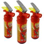 1 Candy Spray Feuerlöscher, Cola, Himbeer oder Erdbeer, Süßigkeit zur Feuerwehr-Mottoparty