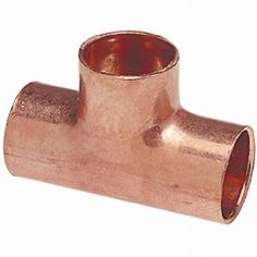 NIBCO, 1/2 in. Copper Pressure Tee, C611HD12 at The Home Depot - Mobile