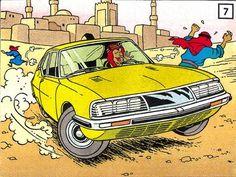 Citroen SM / Tintin