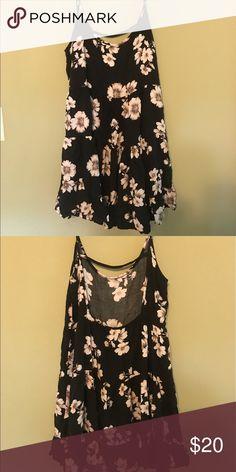 Brandy Melville Jada dress Perfect condition summer dress with open back. Fits a small/medium Brandy Melville Dresses Mini