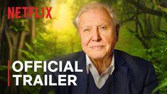 David Attenborough: A Life on Our Planet   Official Trailer   Netflix New Netflix, October 4, Lucas Till, David Attenborough Documentaries, Hd Movies, Movie Tv, Biography Film, Planet Movie, Journaling