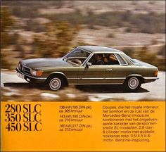 Mercedes-Benz SLC (1979).