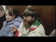 Mountain Man in court for illegal fishing - owns judge and walks out.