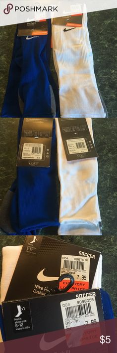 Nike Soccer ⚽️ socks BUNDLE 💥💥💥 Men's Nike Soccer Socks NWT bundle⚽️⚽️ Nike Underwear & Socks Athletic Socks