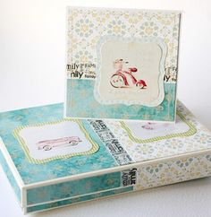 Love this box with card. Packaging Idea?