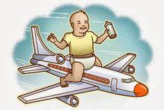 Mamá de Alta Demanda: Viajar sola con el bebé