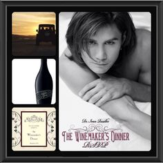 """""""RSVP"""" by Dr. Ivan Rusilko the 2nd prequel and a must read for The Winemaker's Dinner feast trilogy. Photos by John Conroy and Dr. Ivan Rusilko. Collage by me."""