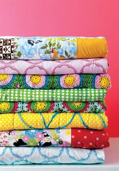 Colorful Blankets