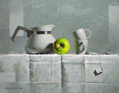 Fulcrum by David Cheifetz Oil ~ 8 x 10