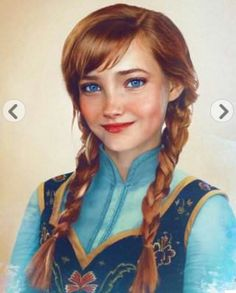 Anna#la reine des neiges#elsa sister