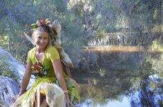 Fairy Dani by the water. Nature Fairies from Ladybird Entertainment.