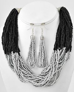 Black and Silver $15