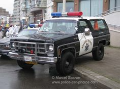 Police Car Photos - GMC Jimmy California Highway Patrol