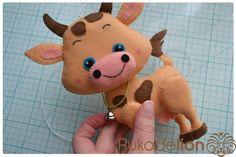 Sewing Stuffed Animals, Dinosaur Stuffed Animal, Felt Animals, Baby Animals, Felt Doll Patterns, Felt Keychain, Golf Club Covers, Felt Toys, Felt Ornaments