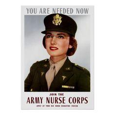 Verbinden Sie das Armee-Krankenschwester-Korps