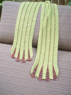 beaded evening scarf by miripratt on Etsy