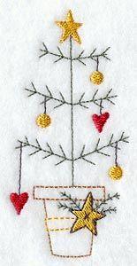 Hearts and Stars Christmas Tree    2.49