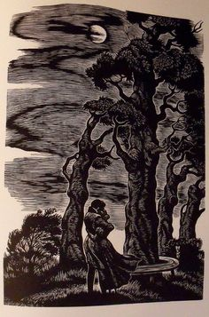 This is my favorite illustration from the 1943 Random House version