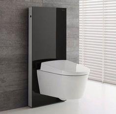 Brand new bidet toilet , the Geberit Aquaclean Sela Shower Toilet - from UK Bathrooms. #contemporary