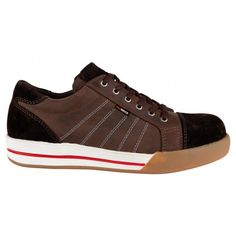 Safety Sneakers Emerald Brown S3 Shoe - Redbrick - http://71workx.com/brands/redbrick