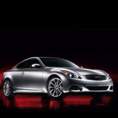 Infiniti G37. I love this car!  My next one???? Must be fire engine red.
