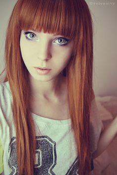 Red Hair & Bangs