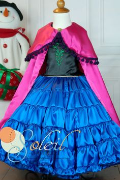 Princess Ann Real Frozen Ball Dress by SCbydesign on Etsy, $119.99 wow...just wow