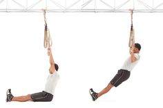 If you want to build serious upper-body strength while developing functional fitness that will help you move, feel and look your best, give TRX Suspension Training a try. Tabata, Trx Ab Workout, Abs Workout Video, Man Workout, Workout Routines, Workout Schedule, Cardio, Trx Training, Body Weight Training
