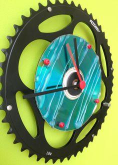 diy chainring clock