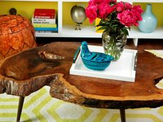 DIY Network has funky ideas for upcycling old furniture and turning old junk into new treasures.