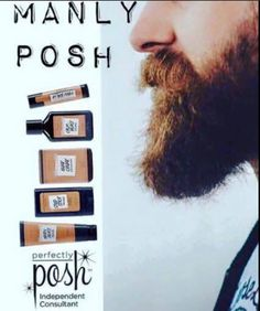 Manly Posh Perfectly Posh Because men deserve to be pampered too!  Like what you see? Visit my website for more product information and pricing: www.iPoshwithCarolyn.com  All items are less than $25; all shipping no matter how big or small $5; buy 5 get the 6th FREE