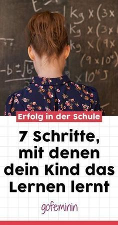How school becomes a success: 7 steps that your child can take So wird Schule zum Erfolg: 7 Schritte, mit denen dein Kind das Lernen richtig lernt Learning properly also needs to be learned. We reveal how you can support your child! Montessori Education, Primary Education, Maila, Science Facts, Elementary Science, Science Classroom, Toddler Preschool, Classroom Management, Kids And Parenting