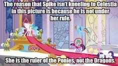 MLP Headcanons Spike is rebellious
