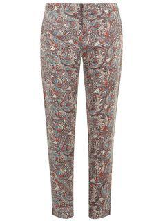 Alice & You Paisley Print Peg Leg Trousers