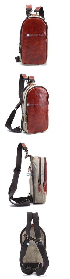 $63.69 Small Leather Backpacks Waterproof Laptop Backpack